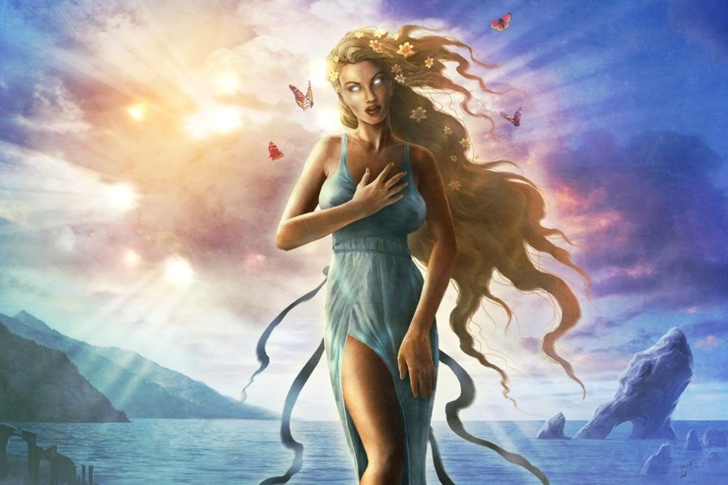 Красота и молодость Афродиты
