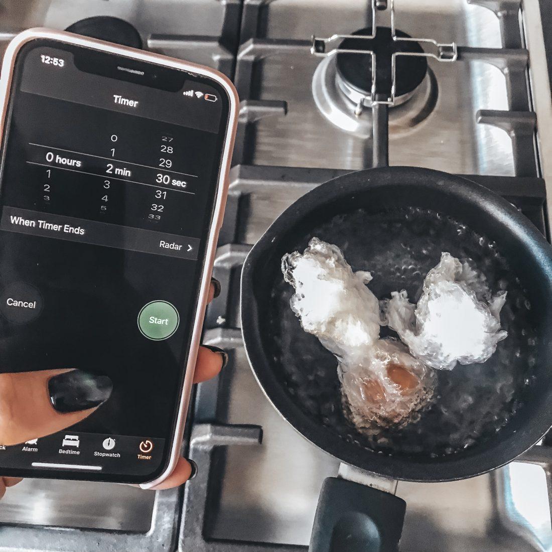 """Магически лёгкий способ приготовления - """"яйцо пашот"""""""