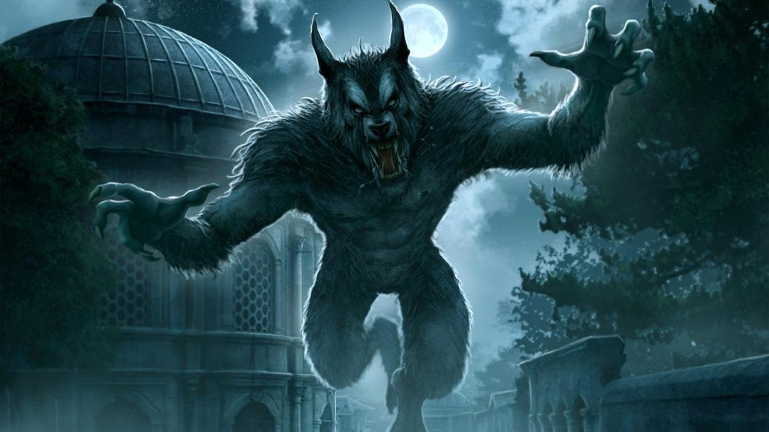 оборотень человек-волк